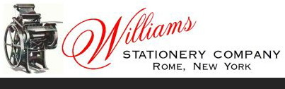 Williams Stationary